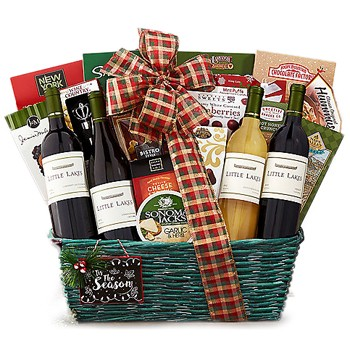 In Vino Celebramus Wine Basket