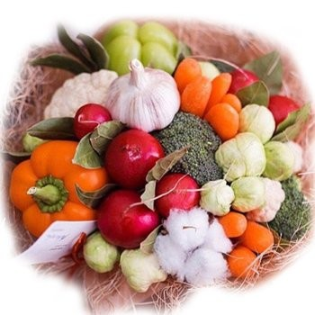 Fresh Goodness Vegetable Bouquet