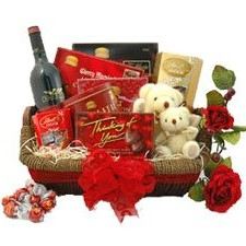 Holiday Romance Basket