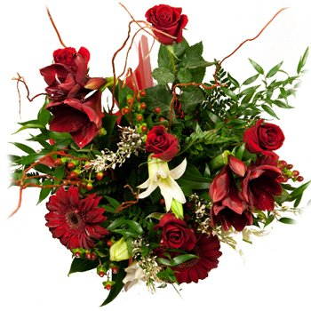 Flames of Passion Bouquet