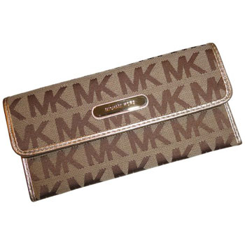 Michael Kors Neutral Wallet