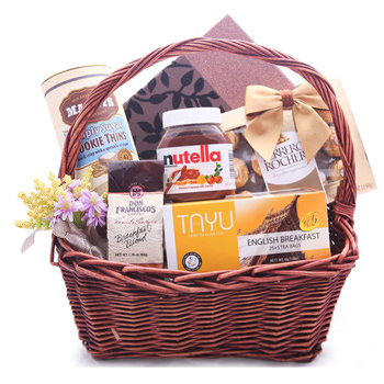 Smooth and Sweet Gift Basket
