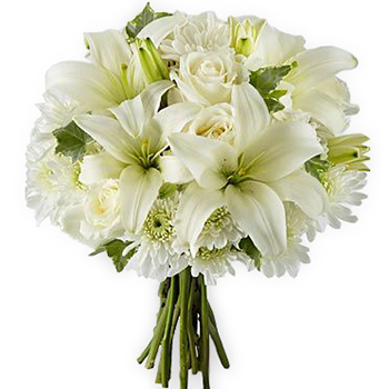 Snowfall bouquet