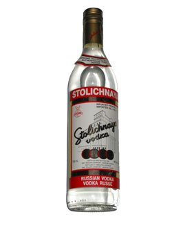 Russian vodka Stolichnaya