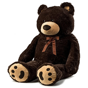 Cute Jumbo Plush Bear